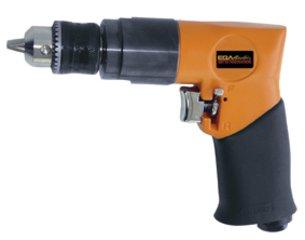 Ega Master - Taladro Neumatico 1800 Rpm - Cap. 10 Mm - 3/8' Reversible Tipo Pistola 57072