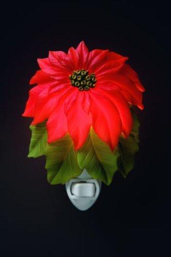 Ibis & Orchid Designs 50012 Poinsettia Night Light