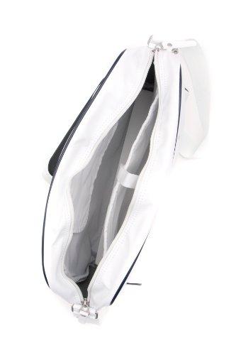 Nike Heritage Si Borsa Traccia 39 Centimetri, white/obsidian