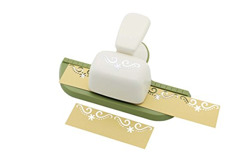 Bira Continuous Border Paper Craft Punch for Scrapbooking Cards Arts (Decorative Flourish) ()