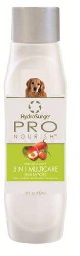 HydroSurge Pro Nourish 3 in 1 Shampoo Plus Conditioner Mango Peach Scented 18 ounces, My Pet Supplies