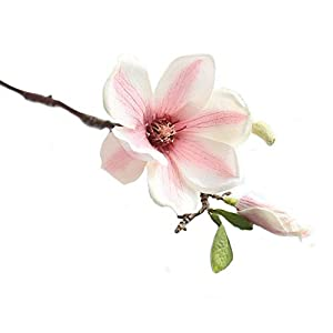 MARJON FlowersNew Merry Christmas Artificial Fake Flowers Leaf Magnolia Floral Wedding Bouquet Party Home Decor 110