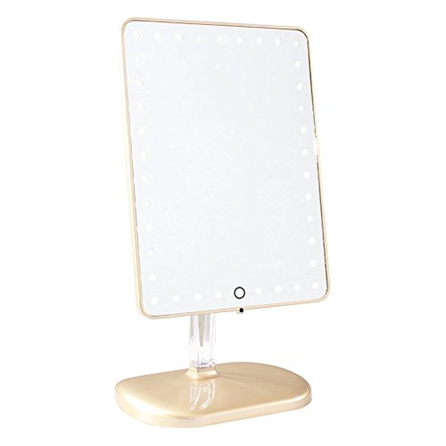 Impressions Vanity Company Touch Pro LED Makeup Mirror with Wireless Bluetooth Audio -