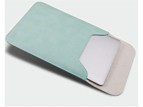 Yunqir Multi-functional 15.4 Inch PU Leather Handbag Tablet Laptop Bag Handbag Computer Inner Bag for Women and Men