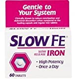 Best Iron Pills - Slow Fe, High Potency Iron 45 mg, Slow Review