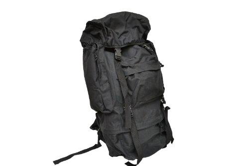 3d0da67e74dc Amazon | 55L 55リットル 大容量 バックパック リュックサック ザック ブラック 黒 黒色 | ダンプポーチ・バッグ 通販