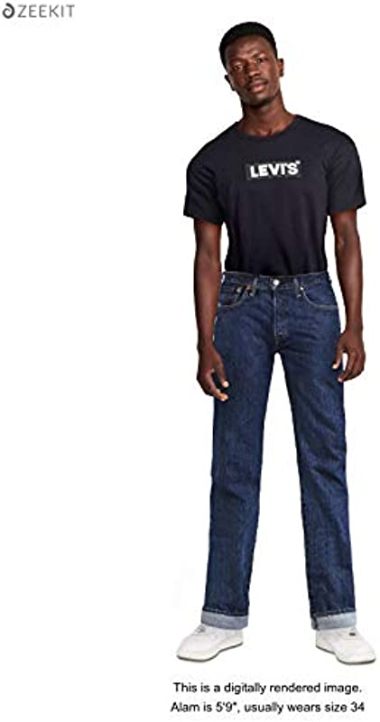 Levi's 501 Original Straight jeansy męskie: Odzież