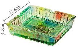 葉巻灰皿, MM&TTAshtrayGlass創造トレンド滞在リビングルーム快適な場所ハウス(カラー:B)、色: (Color : B)