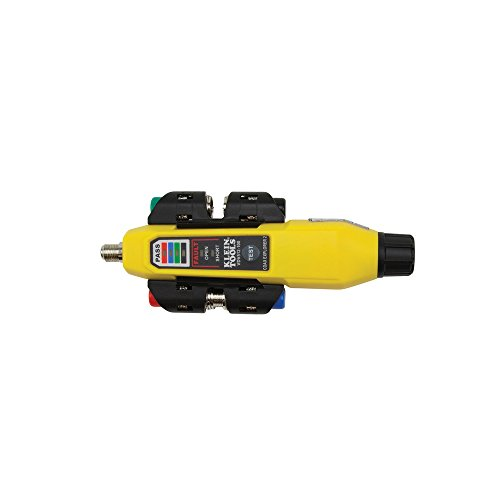 Coax Tester Tracer Mapper with Remote Kit, Test up to 4 Locations, Explorer 2 Klein Tools VDV512-101 ()