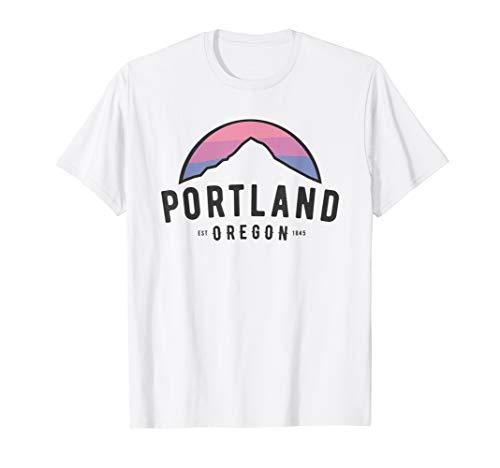 Portland Classic Mt Hood Throwback Oregon 1845 T-Shirt