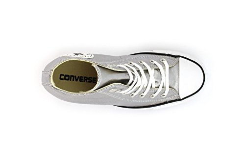 CONVERSE ALL STAR CT LUX MID ARGENTO 555152C - 41, ARGENTO