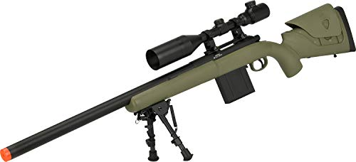 Evike APS M40A3 Realistic Action Airsoft Sniper Rifle (Color: Dark Earth / 550 FPS Rifle - Rifle Army Sniper
