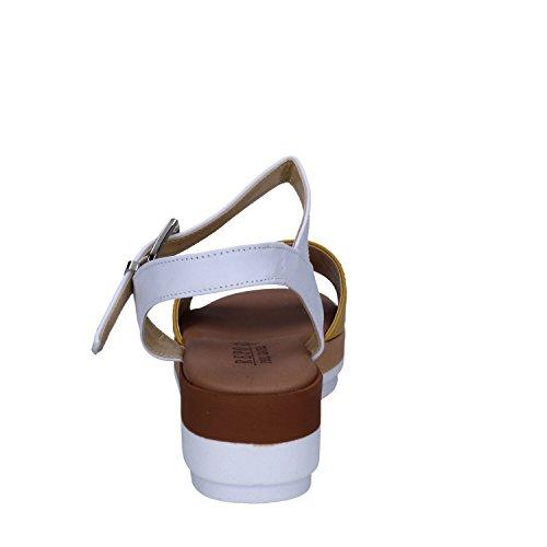 PHIL GATIER by REPO Mujer zapatos con correa Giallo/Bianco