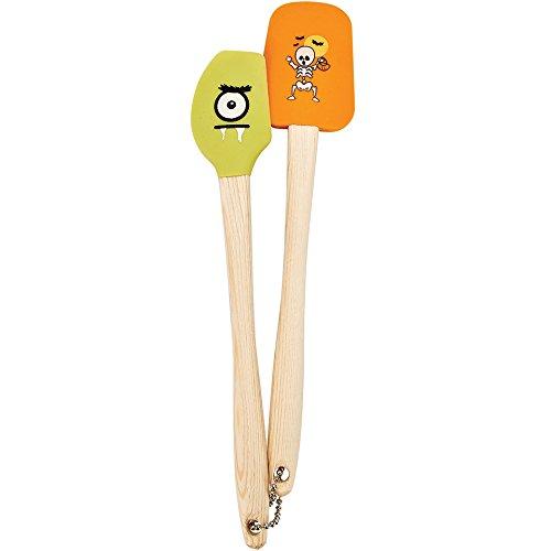Sweet Creations 05013 Mini Halloween Spatula (2 Pack), Multicolor