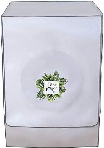 TJTJ Wasmachine Cover Koelkast Cover Zonnebrandcrème Koelkast Cover Stofdichte Cover Waterdichte Case met Polyester Zilveren Coating Stofdicht en Waterdicht