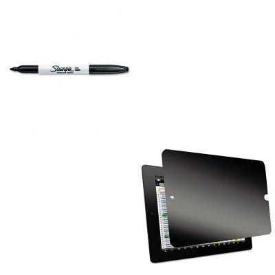 KITKTKSVT4723SAN30001 - Value Kit - Kantek Secure View Four-Way Privacy Filter for iPad 1st-3rd Gen (KTKSVT4723) and Sharpie Permanent Marker (SAN30001)