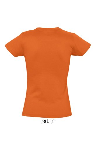 Sols - Imperial women - Damen Rundhals T-Shirt L,Orange