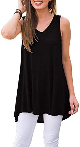 AWULIFFAN Womens Summer Sleeveless T Shirt product image