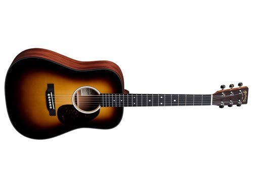 Martin D Jr-10E - Sunburst - Martin Sunburst Guitar