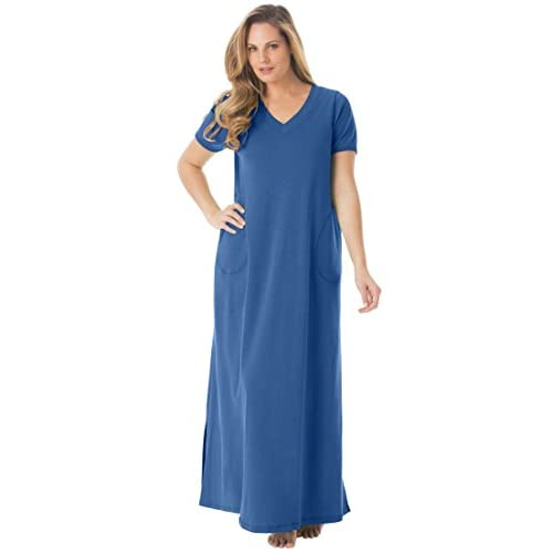Dreams & Co. Women's Plus Size Maxi Lounger