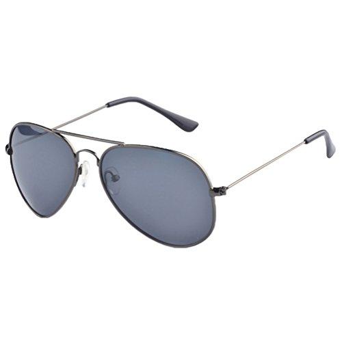 Gris LINNUO Sunglasses Femmes Gris Plage Aviateur Cadre Lunettes de Eyewear Métal Polarisées Voyage Hommes UV Soleil Lentille Protection Cadre wCUpnCxq