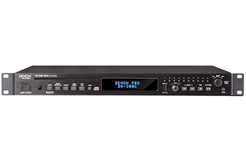 Denon DN-300C CD/Media Player with USB and Aux Inputs