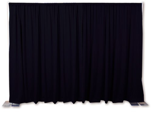 OnlineEEI Premier Portable Backdrop Kit, Black