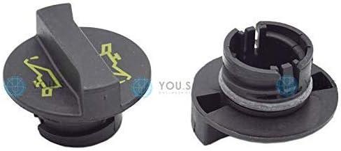1 St/ück YOU.S ORIGINAL /Ölverschlusskappe /Öldeckel /Ölkappe /Öleinf/üllstutzen