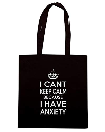 Speed Shirt Borsa Shopper Nera FUN0614 ANXIETY