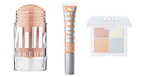 Milk Makeup Holographic Stick, Lip Gloss, and Holographic Powder Quad in Mars