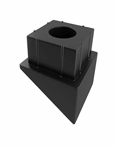 Deckorators Estate Standard Stair Connectors, Black, 20 Pk.