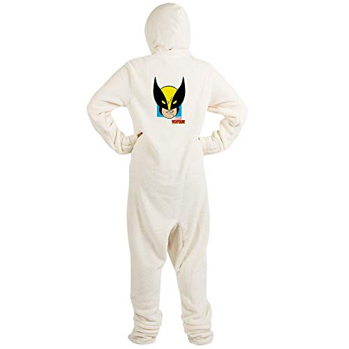CafePress Wolverine Novelty Footed Pajamas, Funny Adult One-Piece