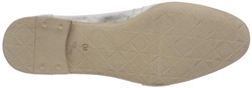 Fossile Mujer Plateado 6371 Mocasines 0101 para 6371 Mjus 716114 wRzXq60