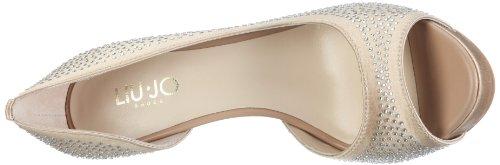 Liu Jo Open Toe, Women's Pumps Gold (Ivory Cream 31011)