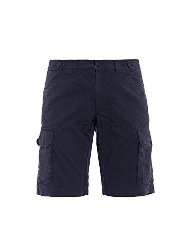 Woolrich Uomo Shorts Blu Wosho03983107 Cotone rAfPTrwqX