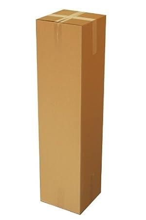 5 St Versandkartons 1200x600x300 braun 2-wellig EB-Welle Bücher,-Umzugskartons