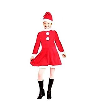 Disfraz Mamá Noel niña Infantil para Navidad (0-6 Meses) (+ Tallas)