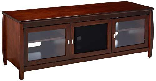 TechCraft SWP60 60-Inch Wide Flat Panel TV Credenza - Walnut