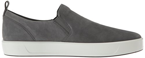 Herren Low Men's Sneaker Ecco Grau 8 Dark Shadow Top Soft qwHdIB