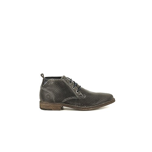 Bullboxer 723-K5-5625A Zapatos de Cordones Hombre Gris, EU 43