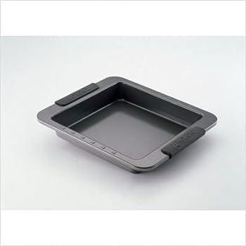 Amazon Com Oneida 9 Quot Square Cake Pan 2 Pack Kitchen