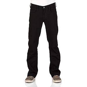 MUSTANG Oregon Jean pour homme coupe Bootcut Denim stretch Coton Bleu Noir W30 W31 W32 W33 W34 W36 W38 W40
