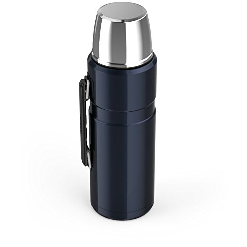 Thermos Stainless King 68 Ounce vacuum Insulated Beverage wine bottle Midnight Blue Electronics Features