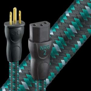 AudioQuest NRG-2 AC power cord - US plugs 6' (1.83m) by AudioQuest