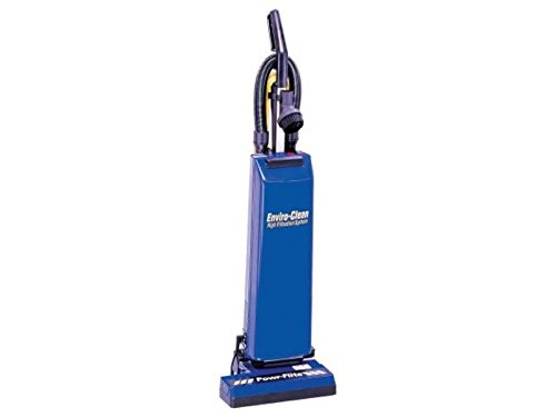 Powr-Flite PF14 Commercial Dual Motor Upright Vacuum with Tools, 14