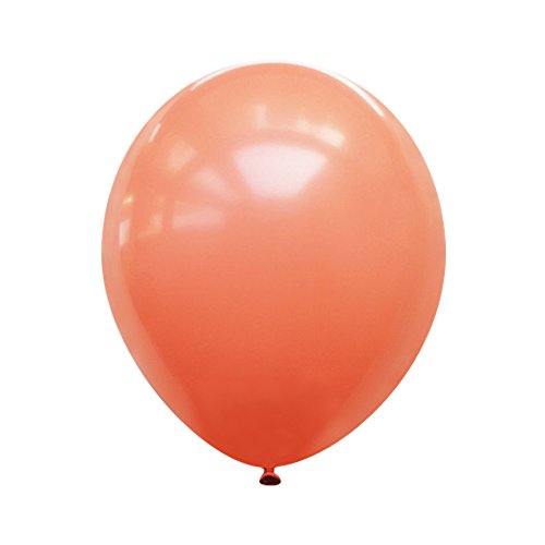 Neo LOONS 10 Pastel Peach Premium Latex Balloons -- Great for Kids , Adult Birthdays, Weddings , Receptions, Baby Showers, Water Fights, or Any Celebration, Pack of 100