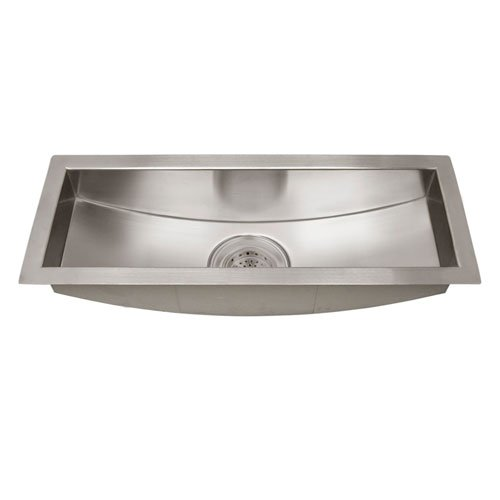 Barclay PSSSB2100SS Products Vedette 22 Inch Curved Bottom Trough Sink