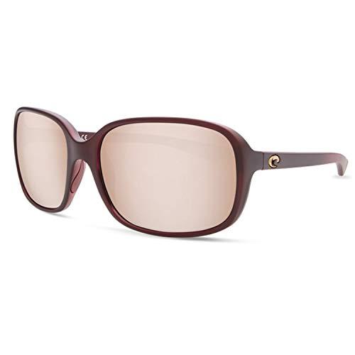 3ed925fb33 Costa Del Mar Riverton Sunglasses Pomegranate Fade Copper Silver Mirror  580Plastic