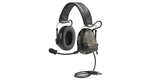 3M Peltor ComTac III Electronic Headset FB Single Comm NATO Olive Drab MT17H682FB-47 GN by 3M