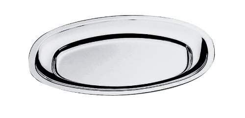 Mepra Oval Serving Plate, 45 by 31cm by MEPRA